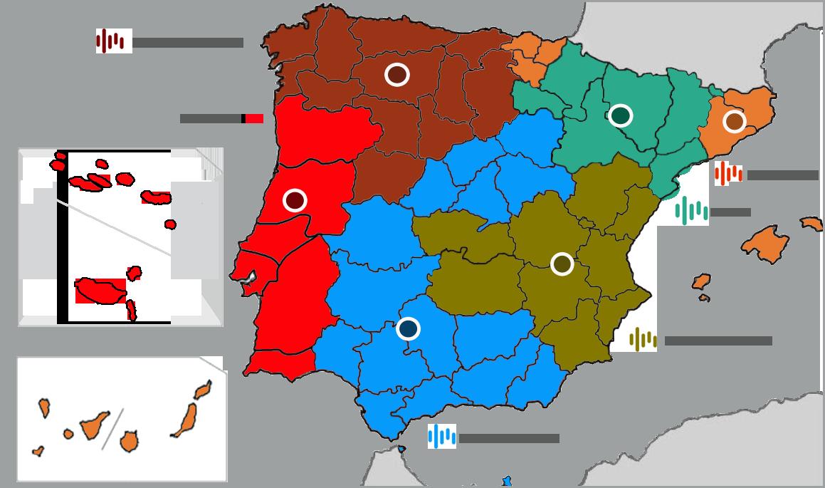 Delegaciones Grupo Circuit